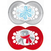 mam-original-6-months-pacifier-christmas-red-white